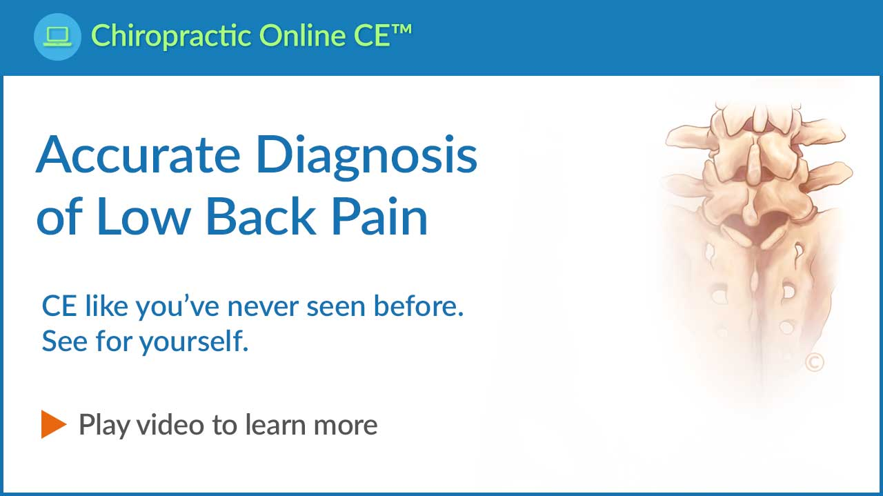 Accurate Diagnosis of Low Back Pain Video