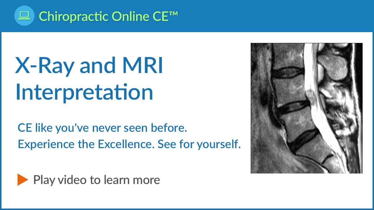 X-ray and MRI Interpretation Video